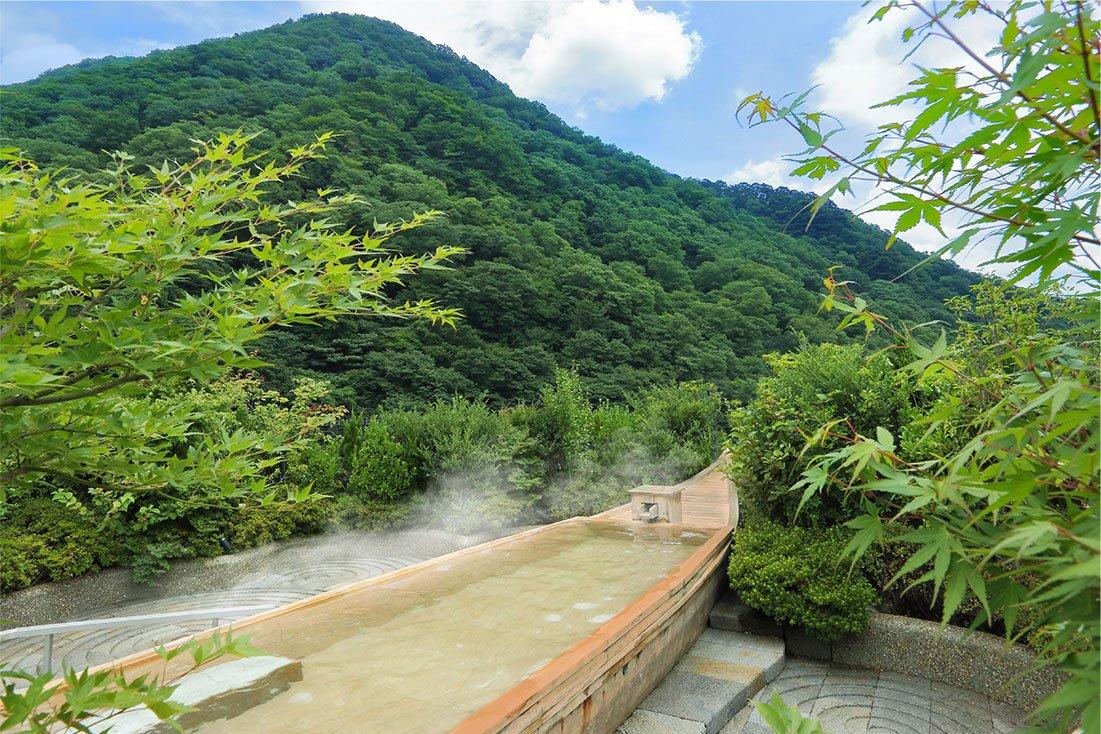鬼怒川Asaya飯店空中庭園風呂