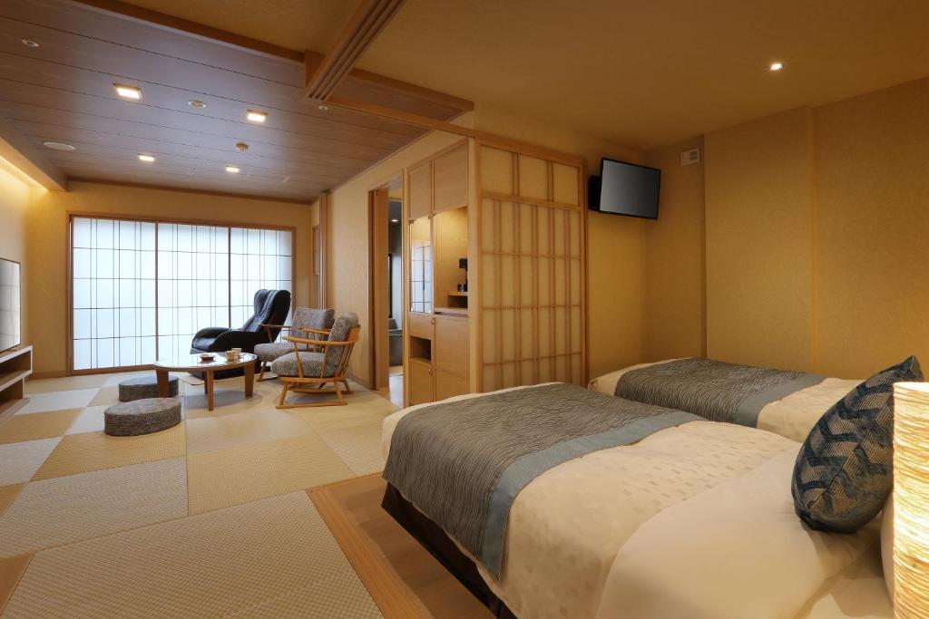 鬼怒川Asaya和洋室