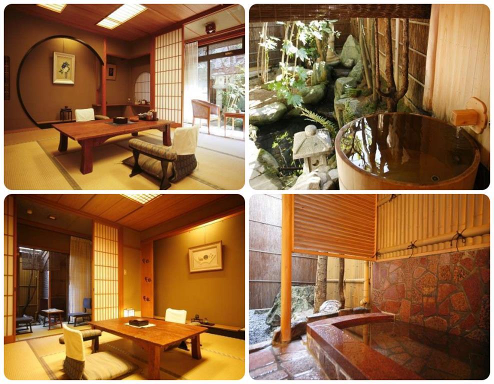 城崎溫泉古萬旅館和室附露天風呂房