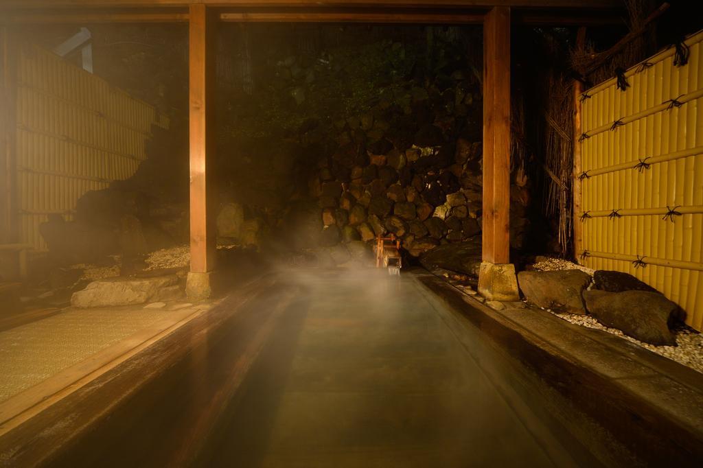 草津溫泉大阪屋旅館露天風呂