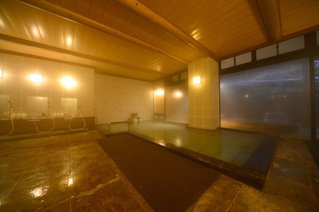 草津溫泉大阪屋旅館大浴場