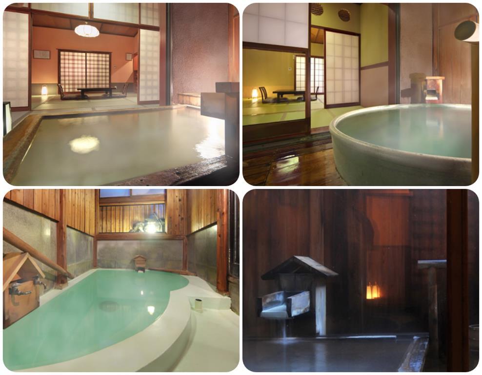 草津奈良屋旅館貸切風呂
