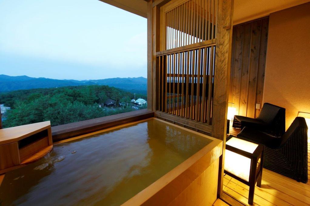 草津溫泉季之庭和洋室附露天風呂