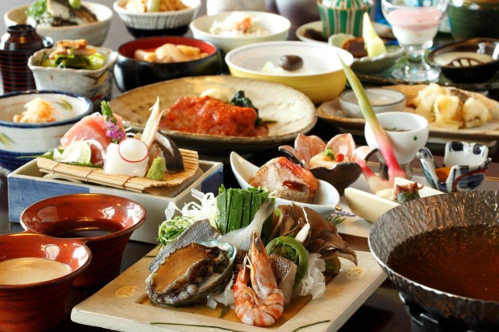 草津溫泉季之庭晚餐料理