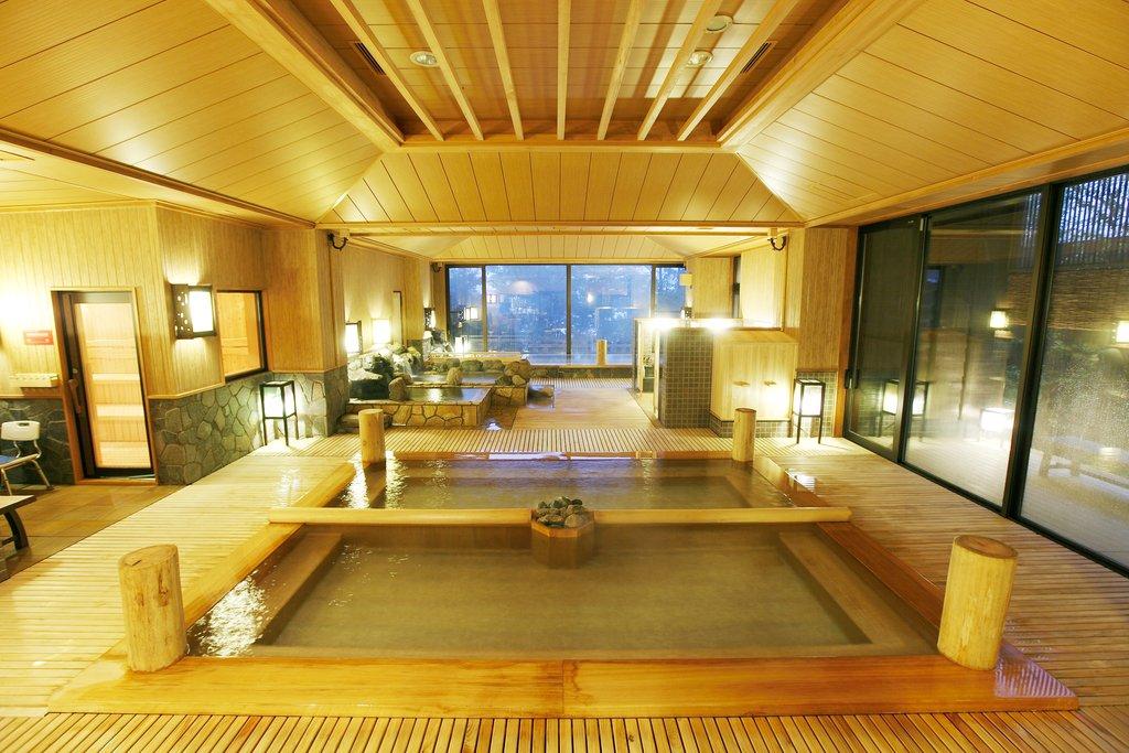 草津季之庭溫泉古代檜木湯