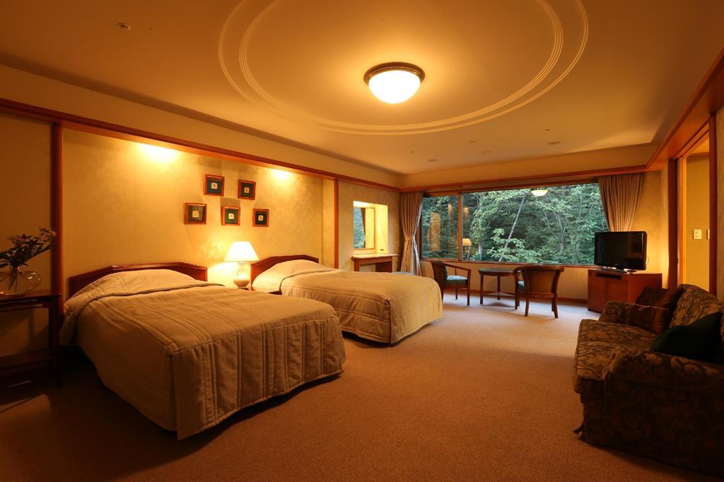 城崎溫泉西村屋招月庭和洋室