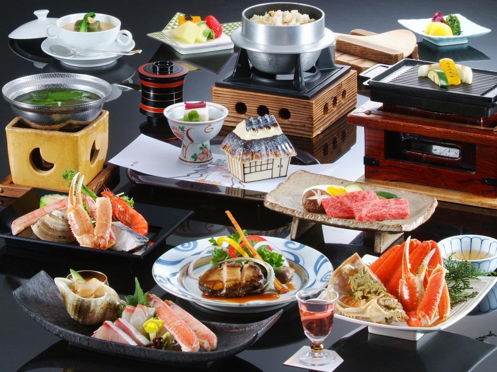 城崎溫泉西村屋招月庭晚餐會席料理