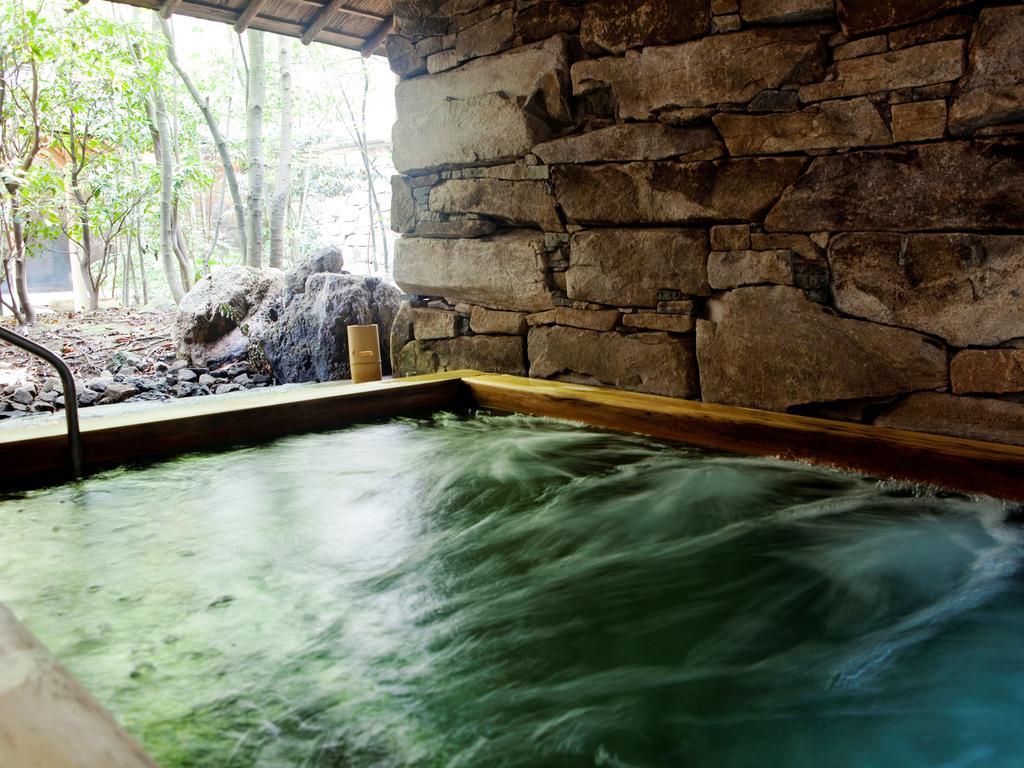 城崎溫泉西村屋招月庭水柱按摩池