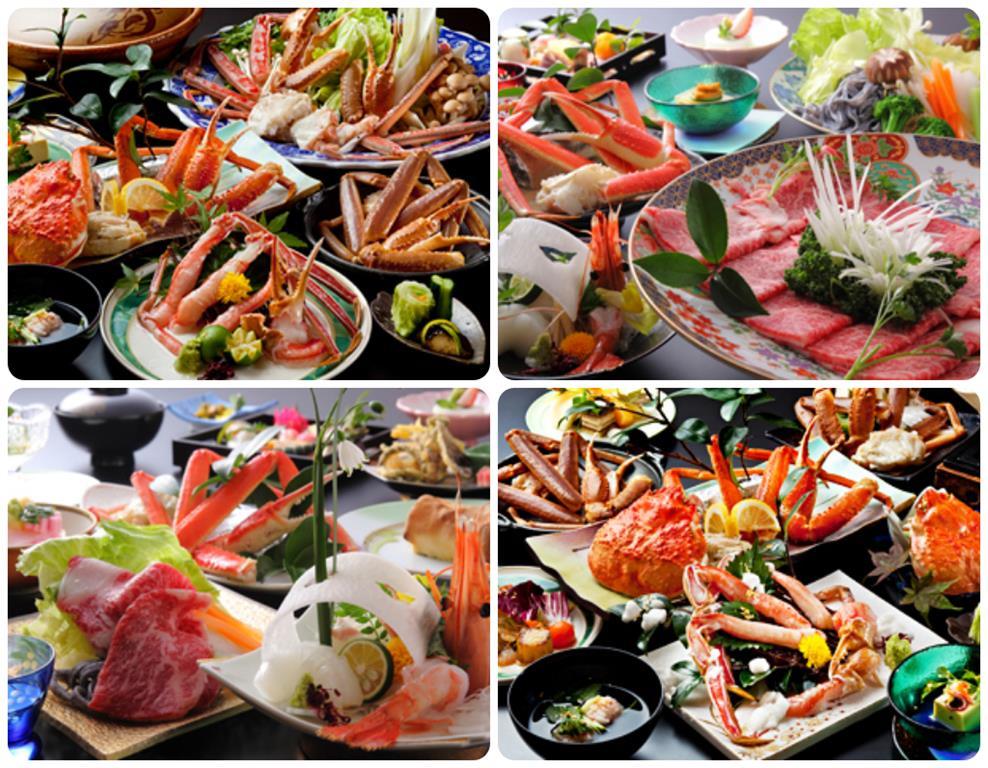 城崎溫泉Tsuki no Shizuku旅館料理