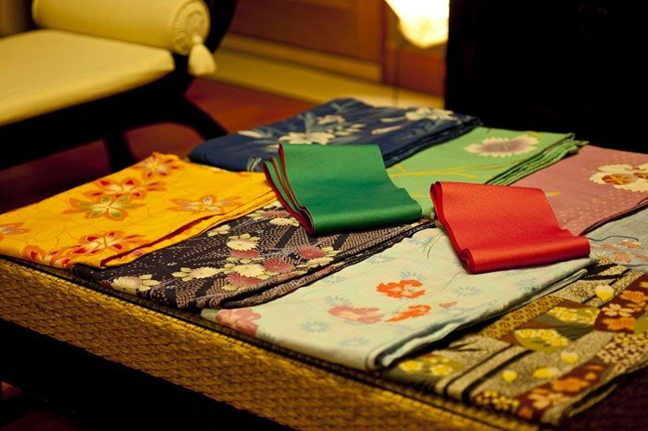 城崎溫泉Tsuki no Shizuku旅館多色浴衣