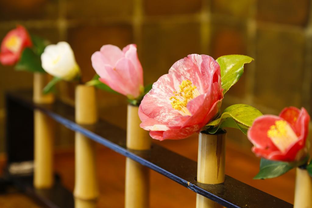 城崎溫泉樁(Tubaki)旅館花卉擺設
