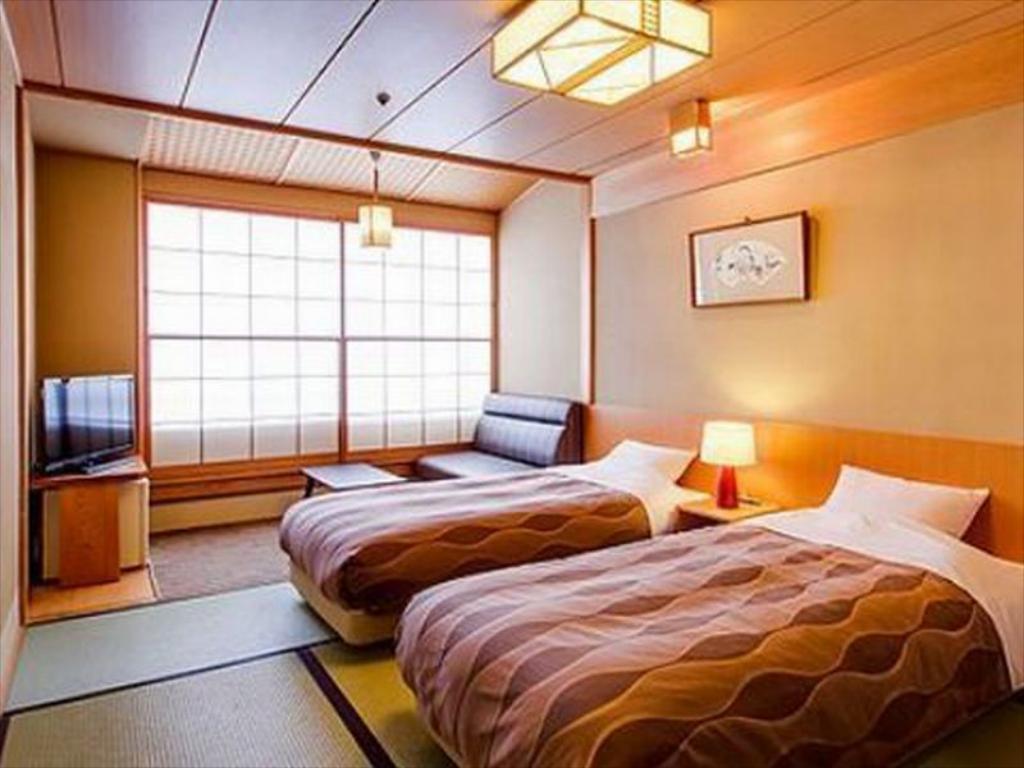 草津櫻井飯店本館和室雙床房
