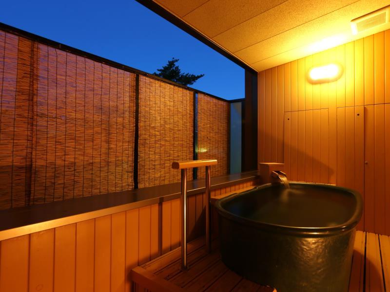 草津櫻井飯店和室附露天風呂房