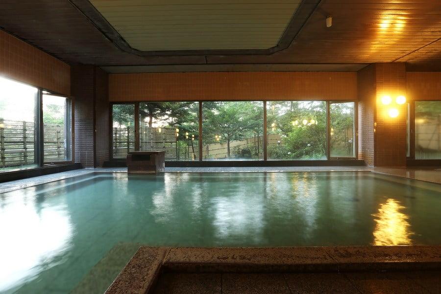 草津櫻井飯店溫泉大浴場