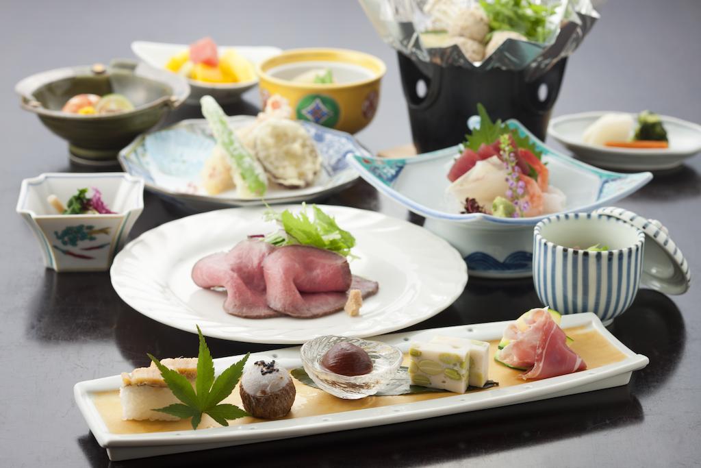 草津Hotel飯店料理