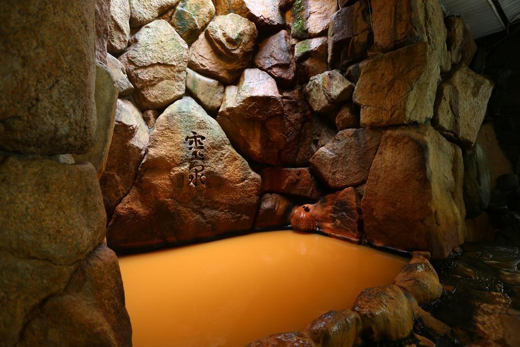 有馬元湯古泉閣岩風呂