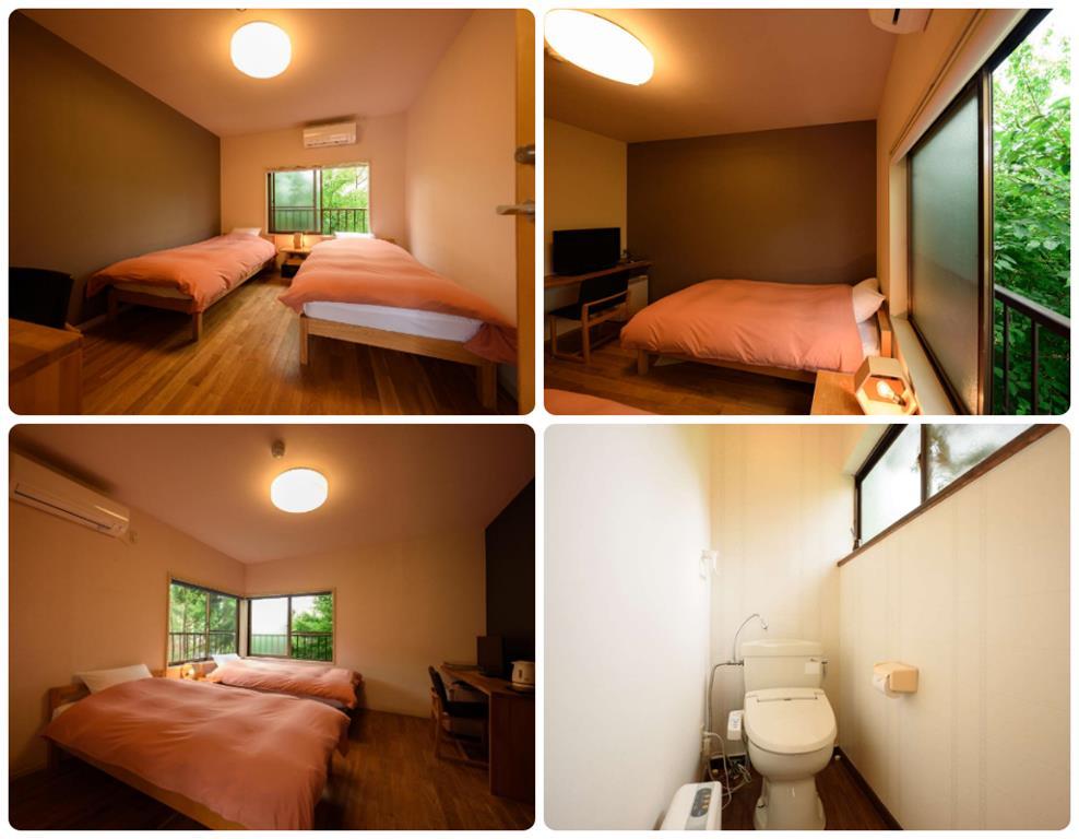 由布院愈富Iyotomi旅館洋室雙床房