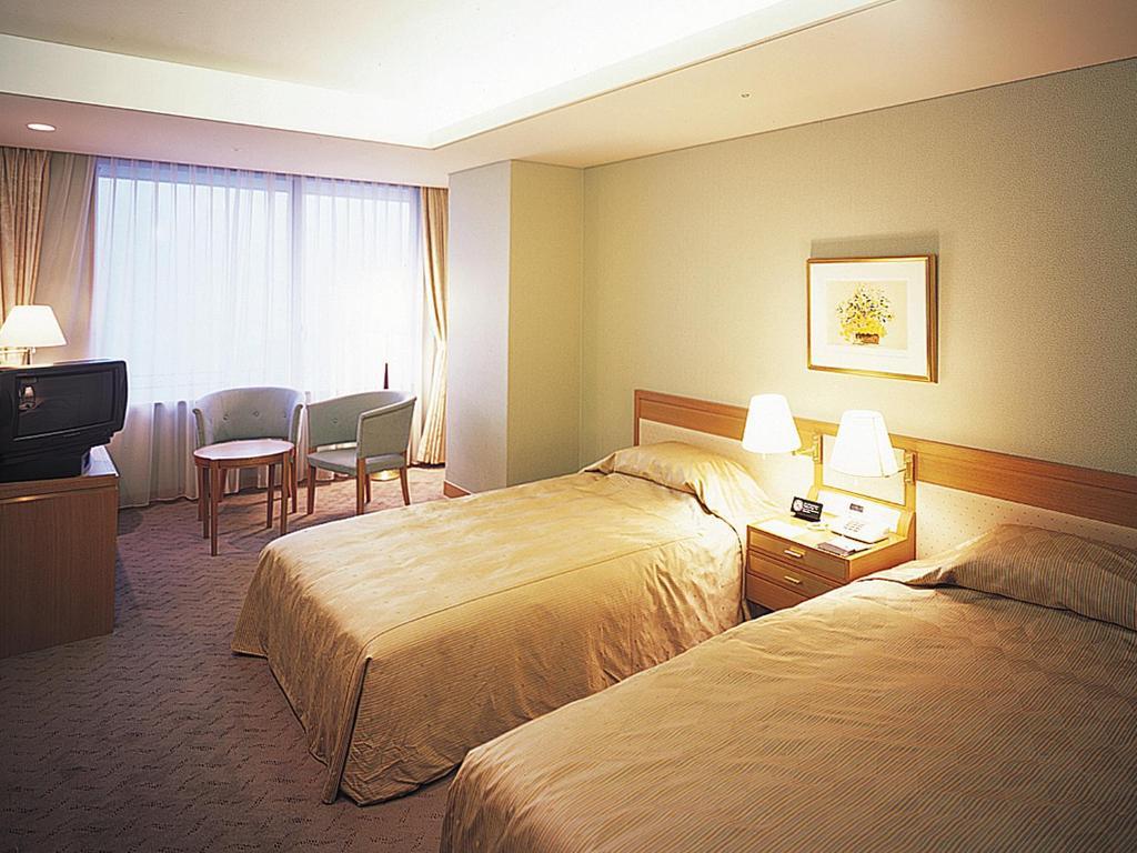 有馬溫泉月光園鴻朧館洋室雙床房