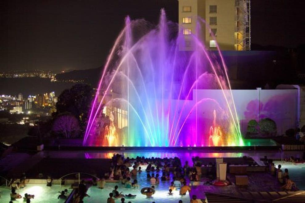 別府溫泉杉乃井飯店水之庭園
