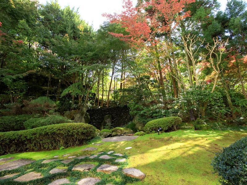 有馬溫泉中之坊瑞苑日式庭園