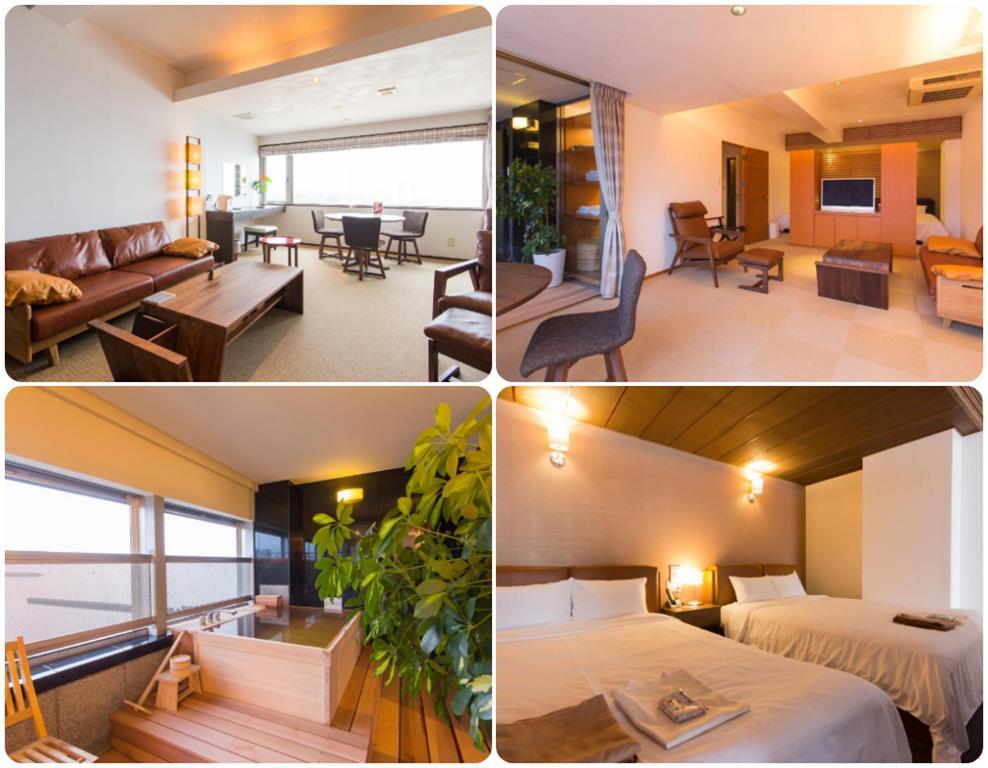 別府溫泉Umine飯店標準房