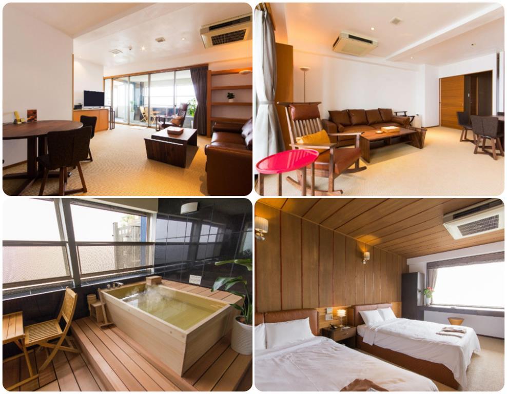 別府溫泉Umine飯店景觀洋室套房