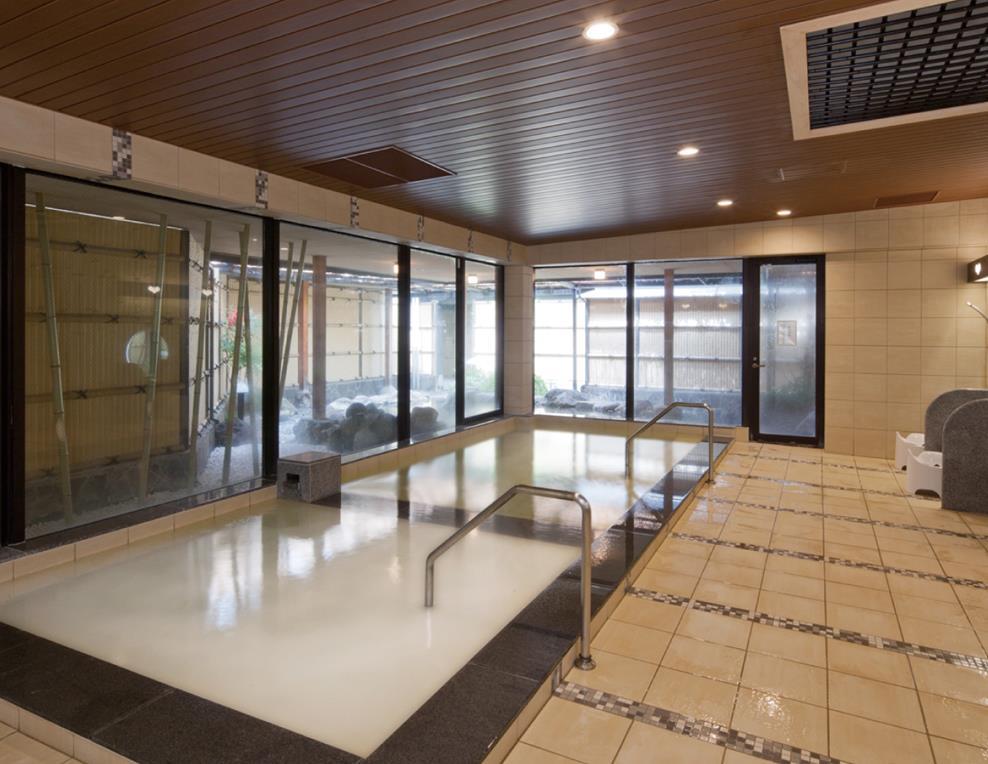花別府旅館女性大浴場