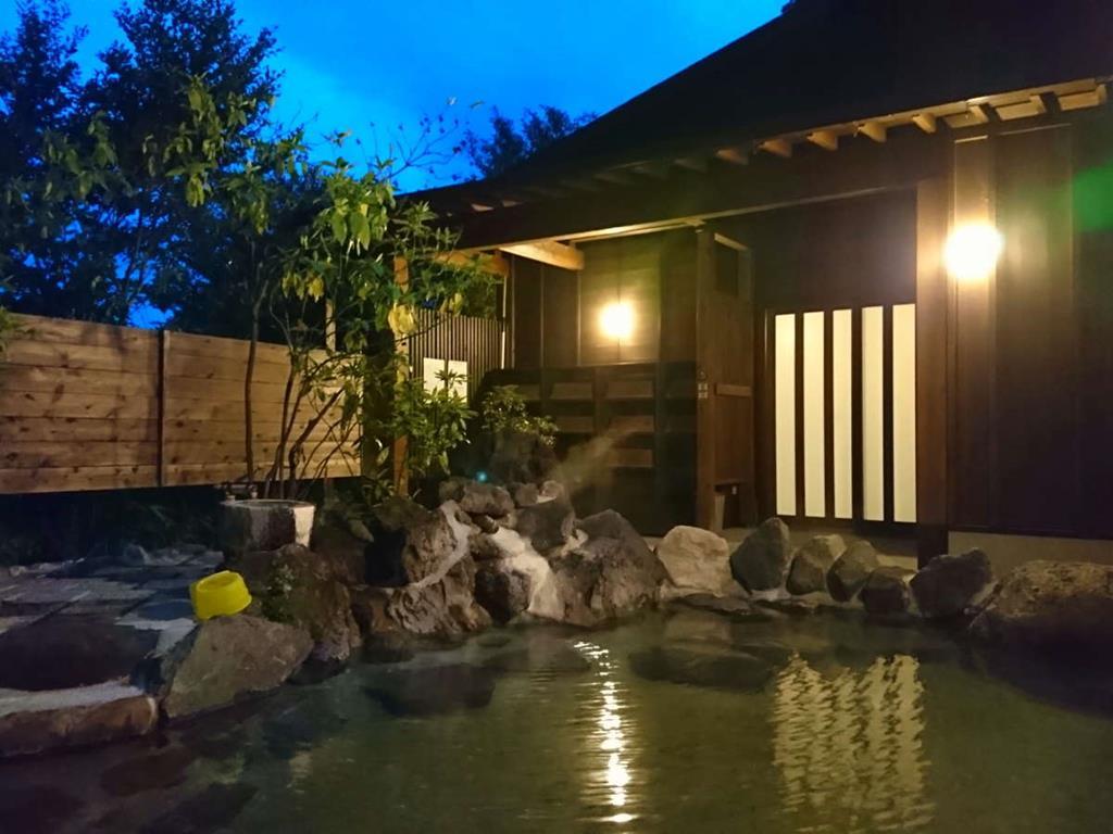 黑川壹之井旅館露天風呂