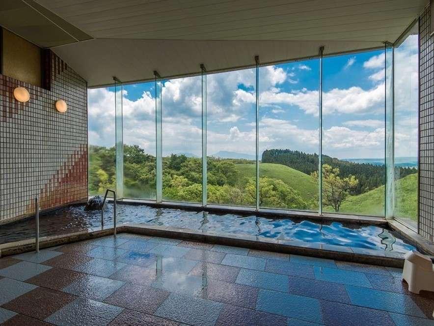 黑川瀨之本高原飯店展望大浴場
