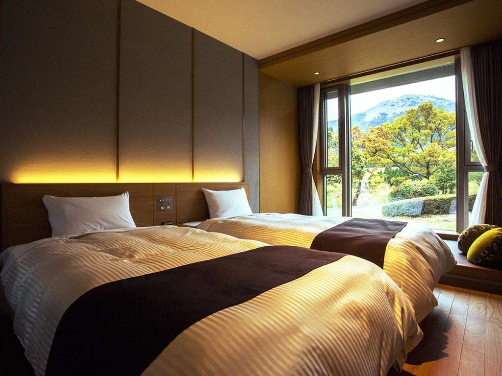 黑川瀨之本高原飯店西館洋室雙床房