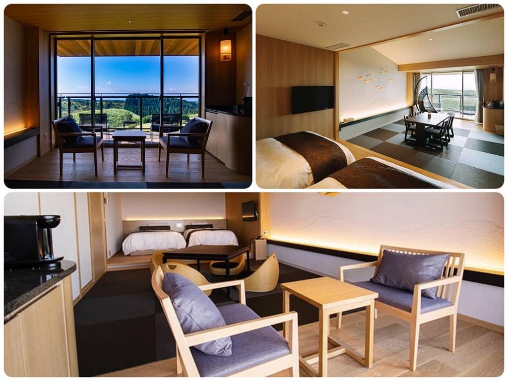 黑川瀨之本高原飯店西館和洋室