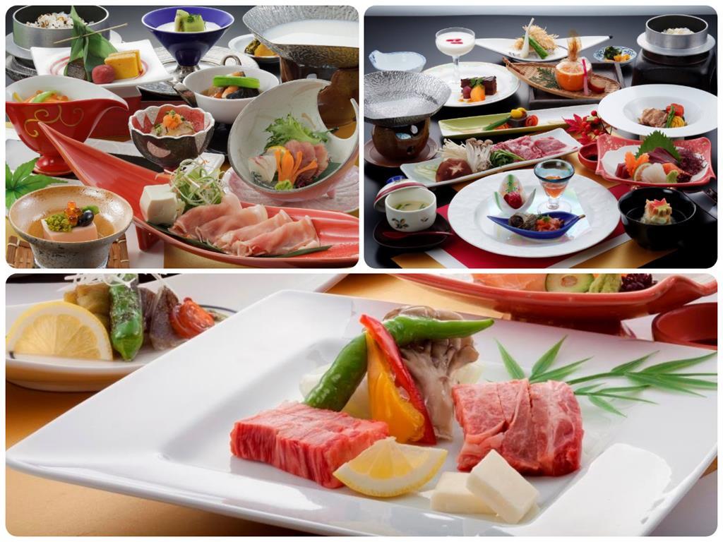 黑川瀨之本高原飯店晚餐料理