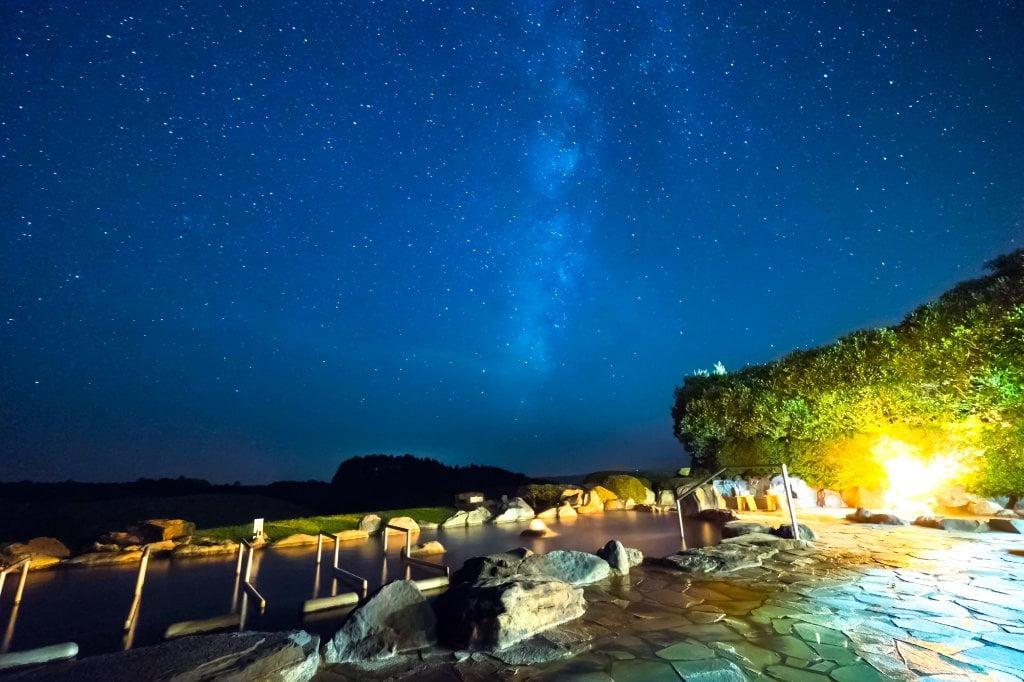 黑川瀨之本高原飯店絕景露天風呂鼻之湯