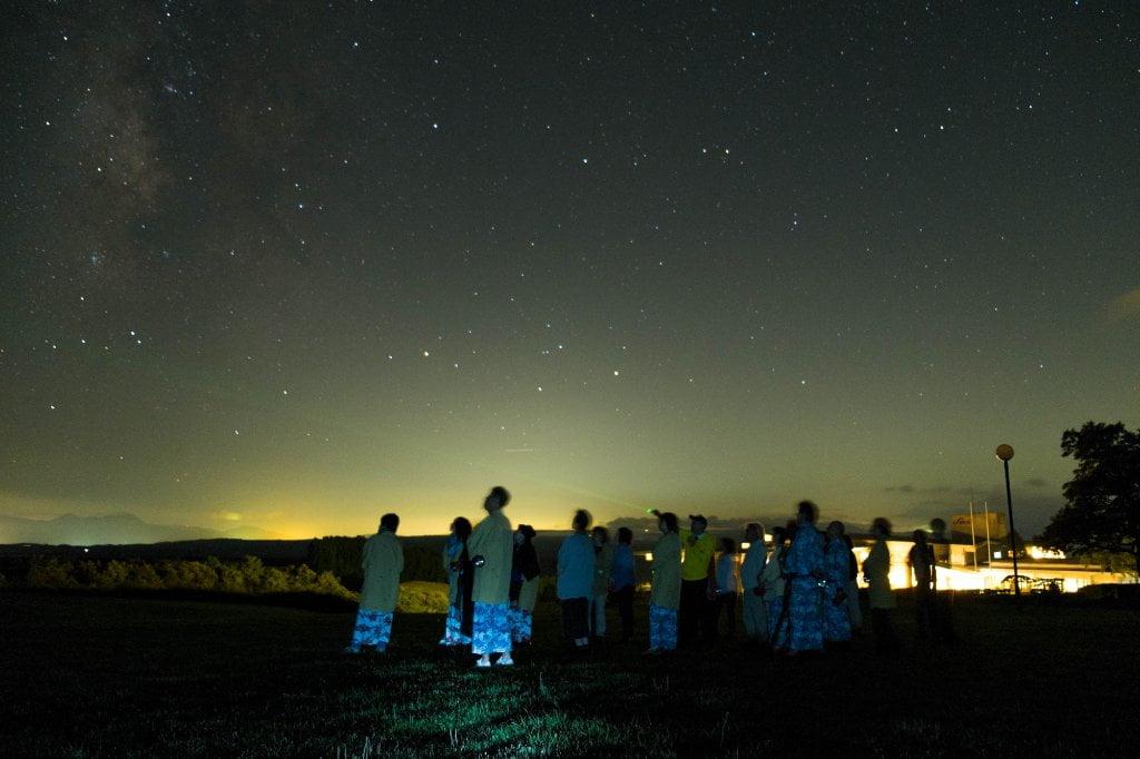 黑川溫泉瀨之本高原飯店星空散步活動