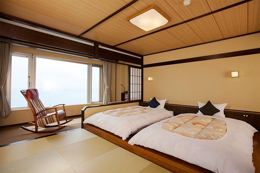 登別古川飯店和風雙床房