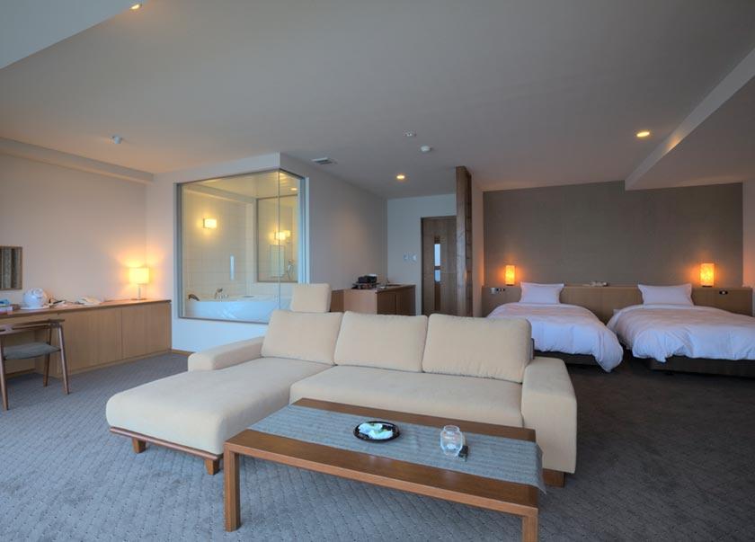 登別古川飯店特別室附內風呂房