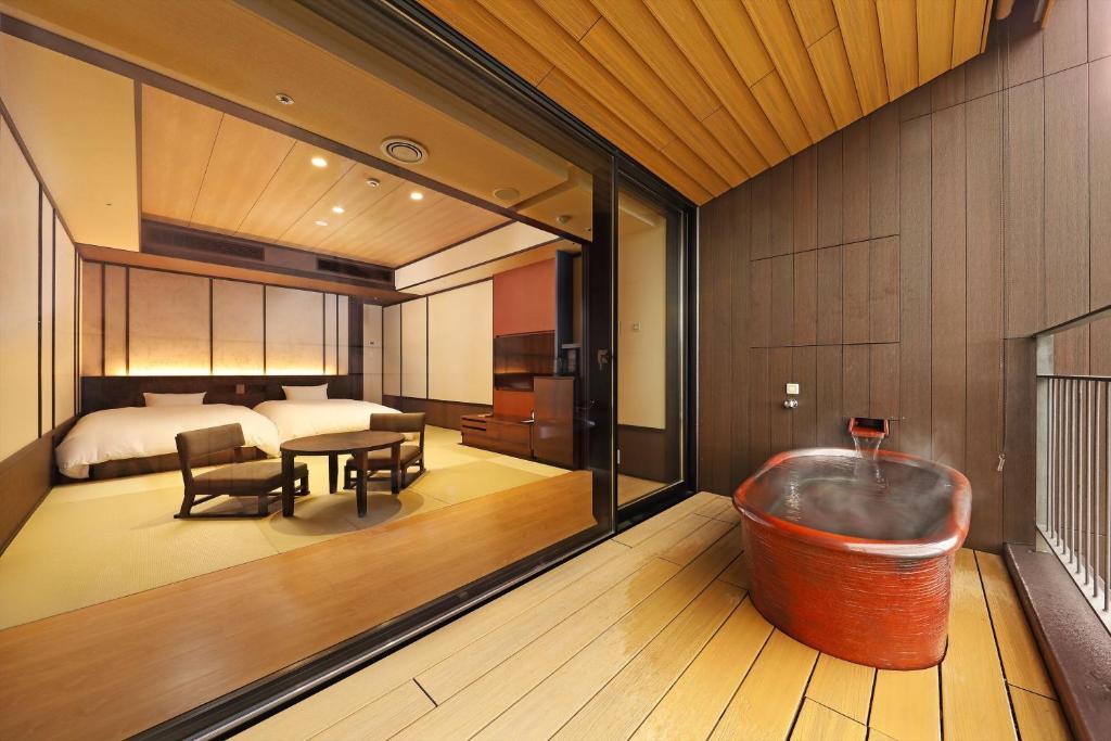 箱根溫泉天悠飯店標準房
