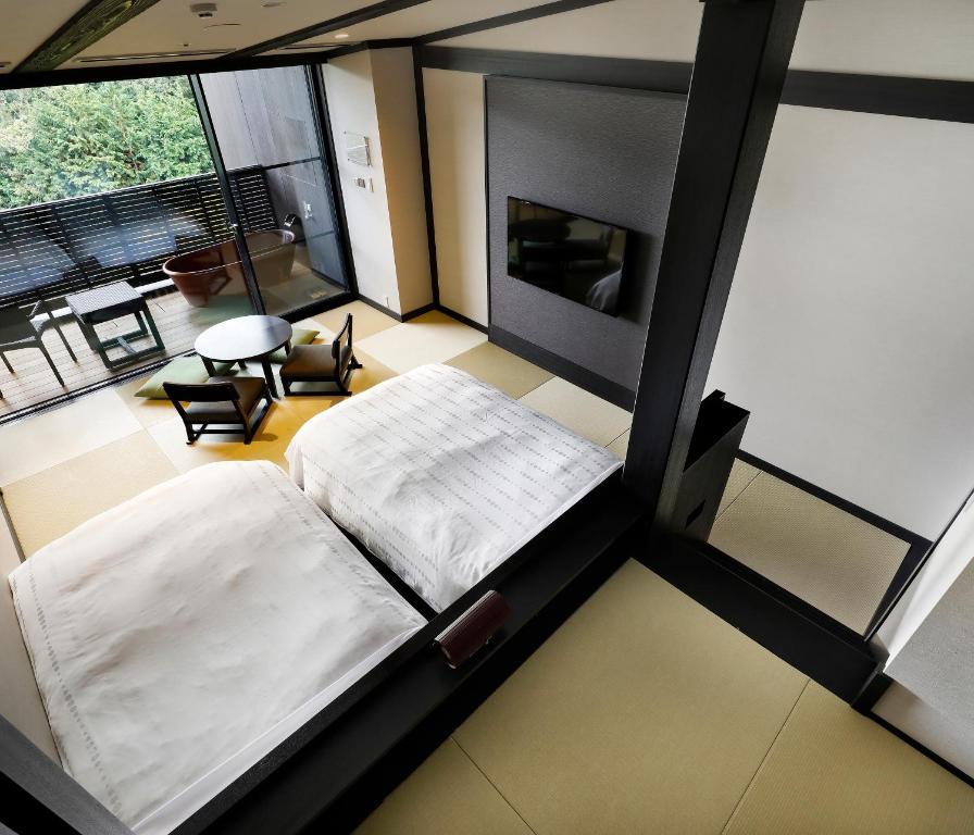 箱根溫泉天悠飯店最上層客房