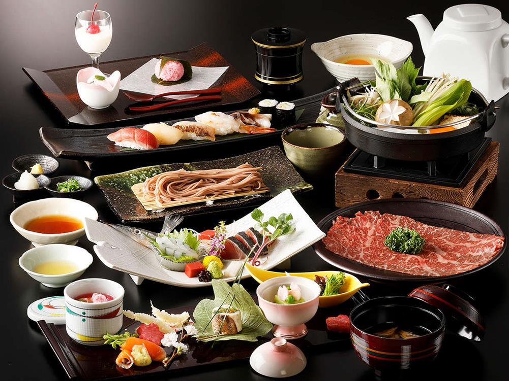 箱根溫泉天悠飯店貴賓館蕎麥麵會席料理