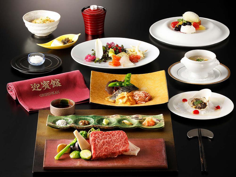 箱根溫泉天悠飯店迎賓館鐵板燒會席料理