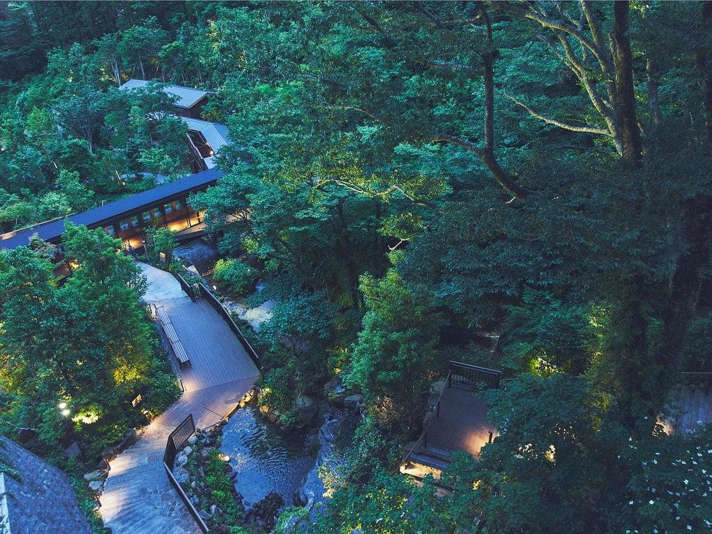 箱根溫泉天悠飯店溪谷庭園