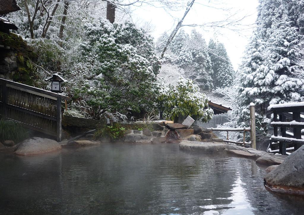 黑川溫泉奧之湯旅館混浴露天風呂