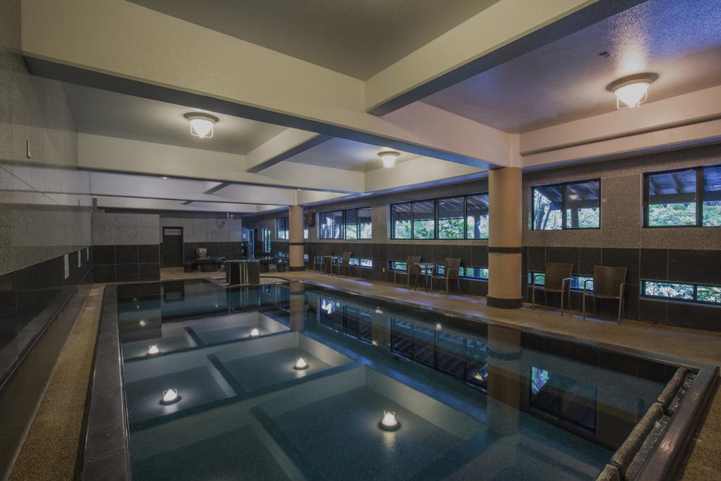 黑川溫泉奧之湯旅館溫泉游泳池