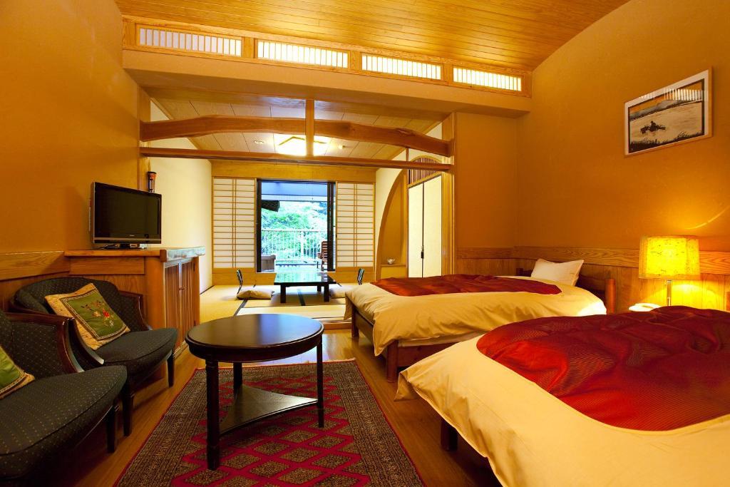 黑川溫泉奧之湯旅館新館和洋室