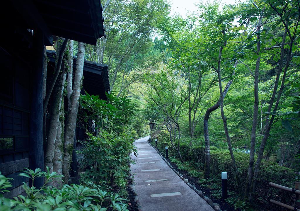 黑川溫泉奧之湯旅館森林庭園