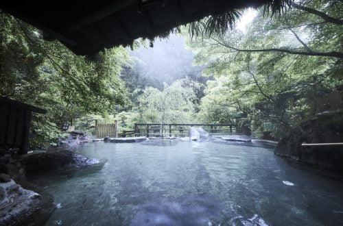 黑川溫泉奧之湯旅館露天風呂