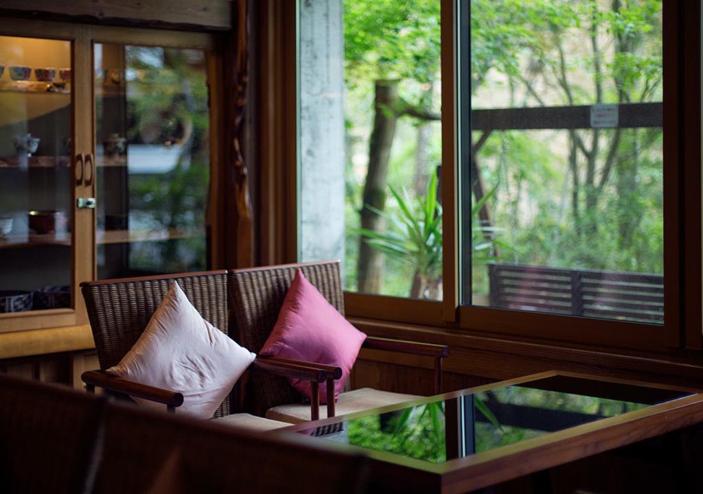 黑川溫泉奧之湯旅館休息空間