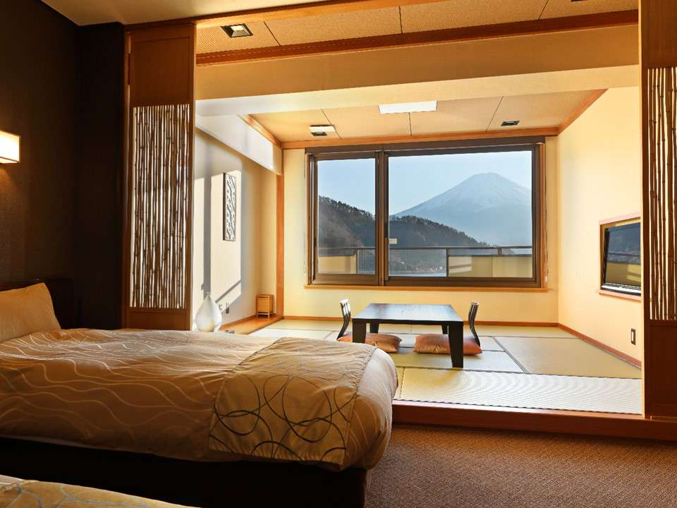 河口湖富士吟景和洋室