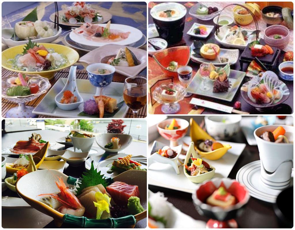 河口湖富士吟景晚餐料理