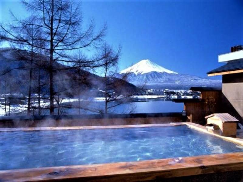 河口湖富士吟景露天風呂
